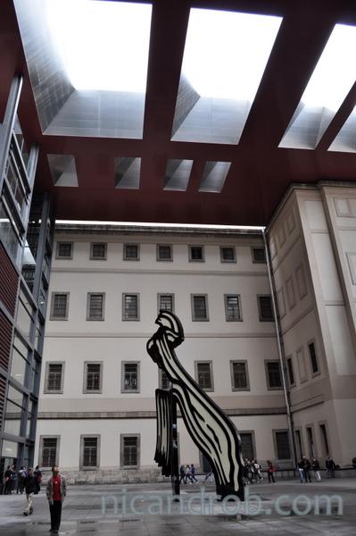 Reina Sophia Courtyard