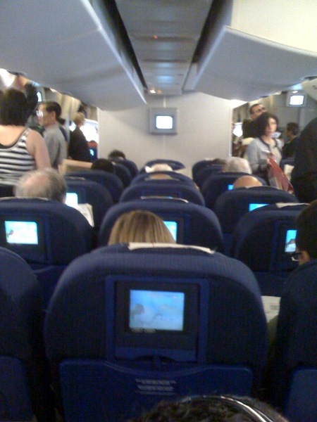 Spain and Andalucia, Air France from LAX to MAD