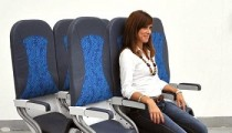 "New ""saddle"" seats on airplanes?"