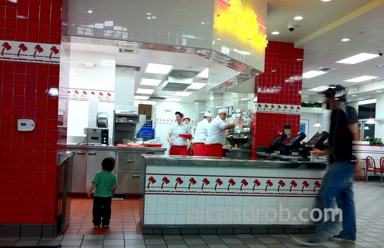 Wordless Wednesday: A Young In-N-Out Fan