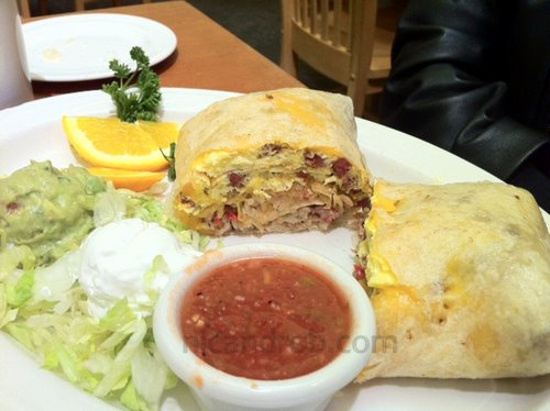kingshawaiian breakfast burrito
