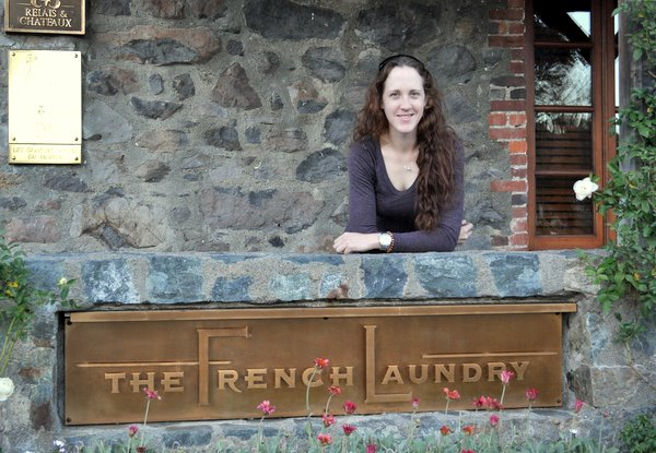 Nicole at The French Laundry