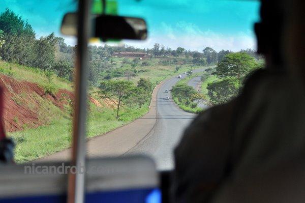 Driving from Nairobi