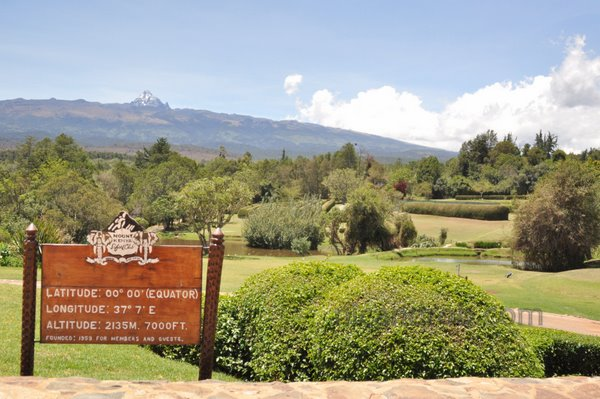 Mt Kenya and the Mt Kenya Safari Club