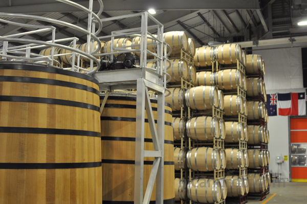 Wine barrels