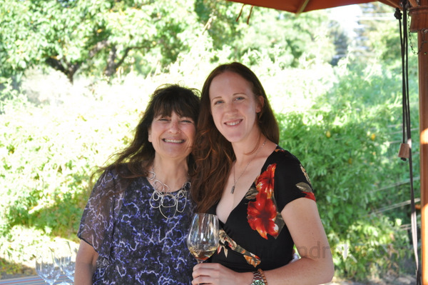 Nicole and Ruth Reichl