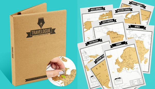 Scratch Map Travel Journal – Scratch Map Travel Edition