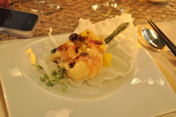 Shrimp Course