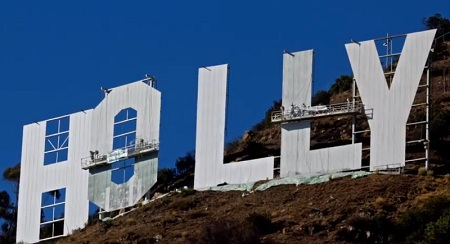 Hollywood Sign Work