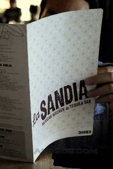 Happy Hour At La Sandia Santa Monica California