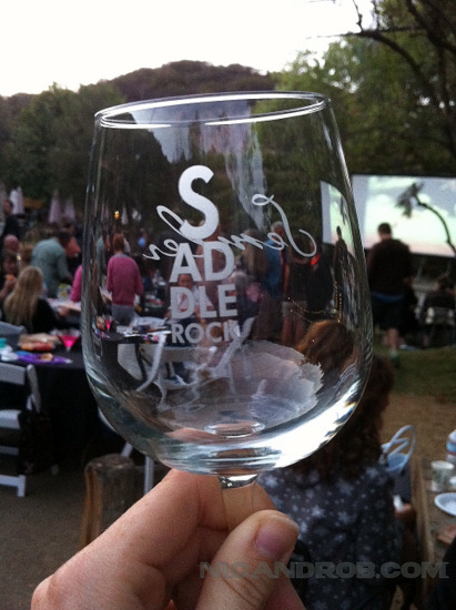 Saddlerock Wine Glass