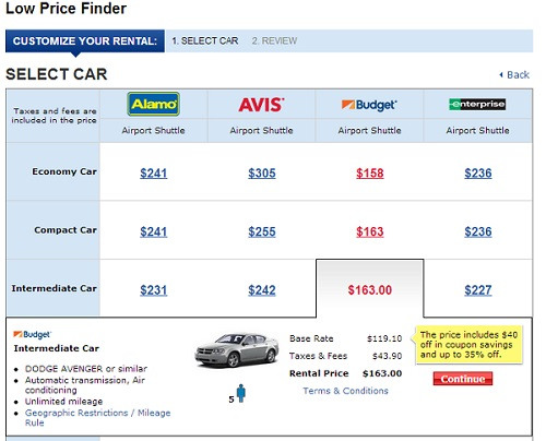 Costco Car Finder Service
