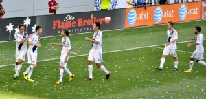 Opening Day of the 2013 LA Galaxy Season