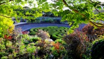 At the Getty Center Gardens in Late Summer