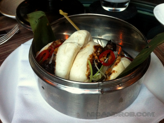 Chinese Bao at Spago