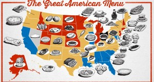 The Signature Food of Every State, mapped