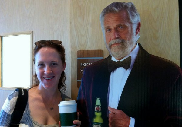 Nicole and The Most Interesting Man in the World