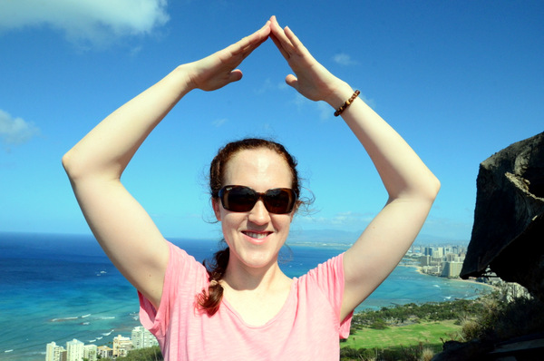 The Diamond Head Pose