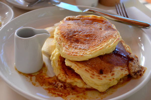 Ricotta Hotcakes; Breakfast at Bills, Honolulu, HI